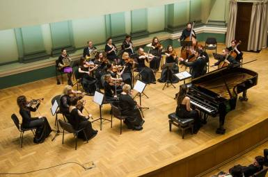 Mozart K414, Lithuania, 2015