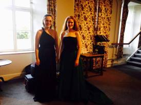 Sarah Gabriel and Alexandra at Darlington Summer School 2015